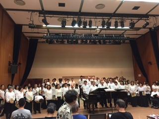 クジラ60合唱団試演会@昭島市民会館小ホール